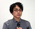 脱原発学習会 講師の朴 勝俊さん