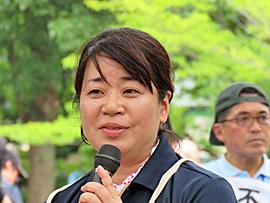 グリーンコープ共同体代表理事 熊野さん