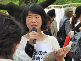 グリーンコープ共同体代表組織委員長佐々木さん