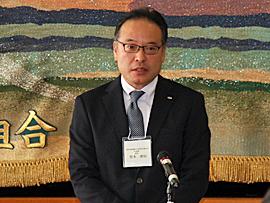 熊本県酪農協同組合連合会 営業課 宮本課長