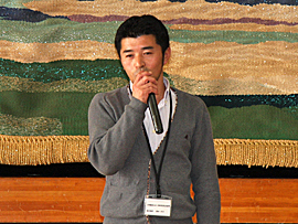 non-GMO牛乳生産者会副委員長 清水さん